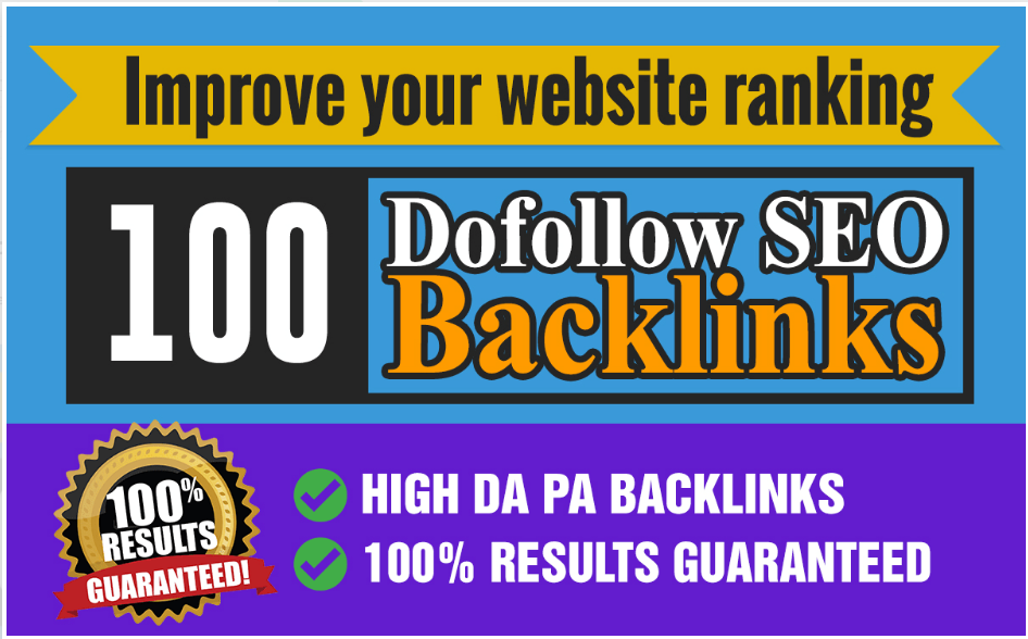 I will do 100 dofollow improve your website ranking