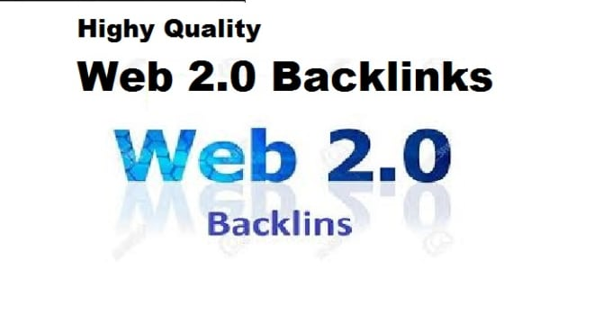 provide you high da 100 web 2.0 backlinks