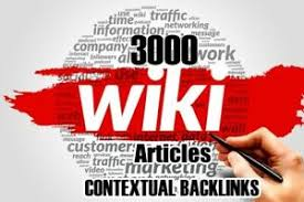 Provide 3000 Wiki Backlinks to Boost your keywords rank