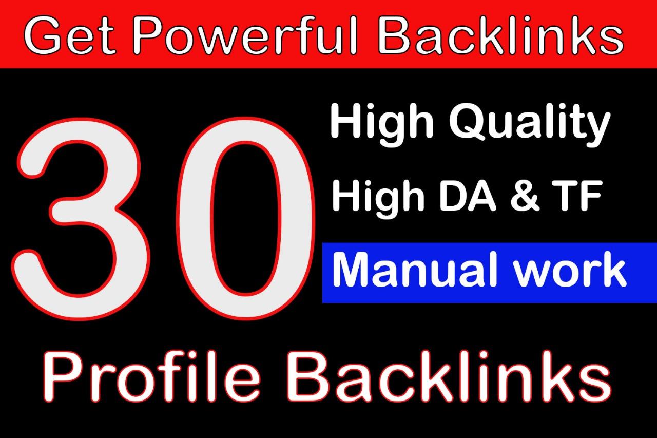 Limited offer - 30 Manual Backlinks DA +80 Save method for Alexa Rank