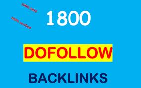 Provide 1800 DoFollow PR1-8 Backlinks best for your seo