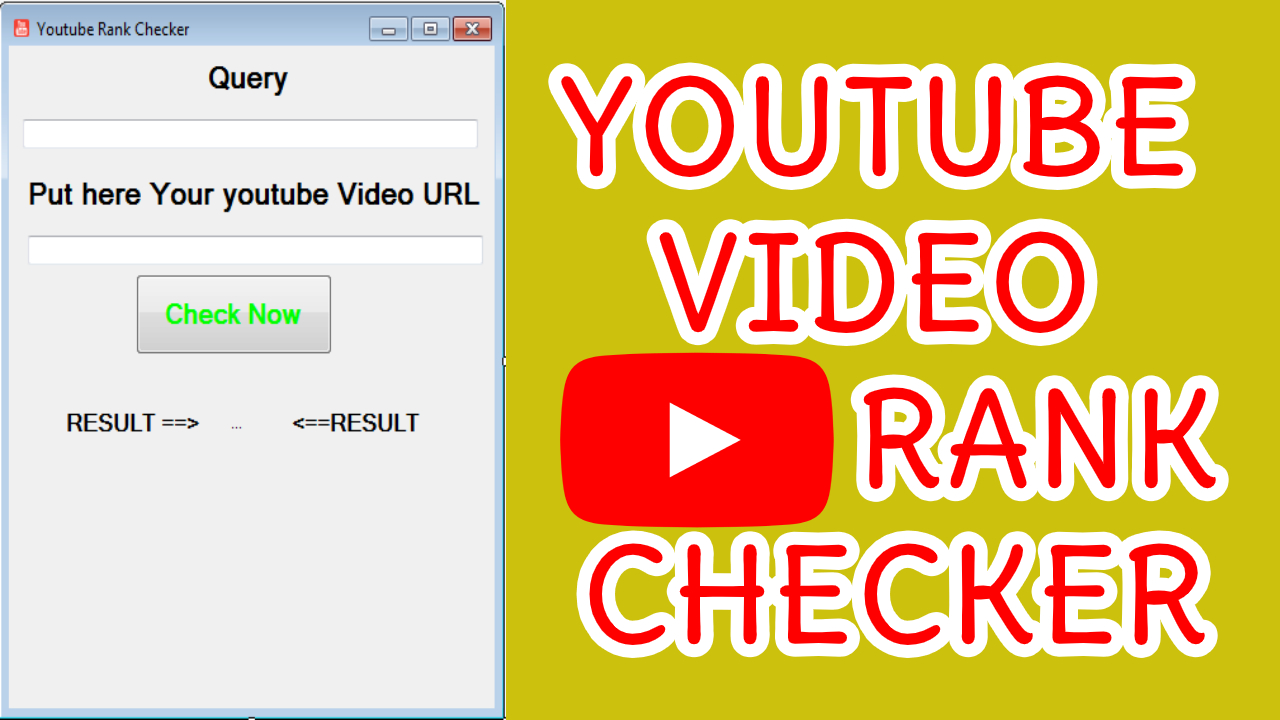 Youtube Video Rank Checker Software Bot