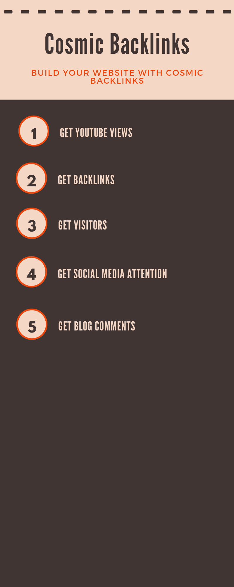 Rank Your Site to the Top of Google with Our Backlinks