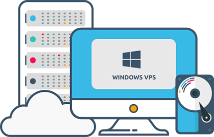 Windows VPS 2GB RAM,  40SSD,  1vCPU