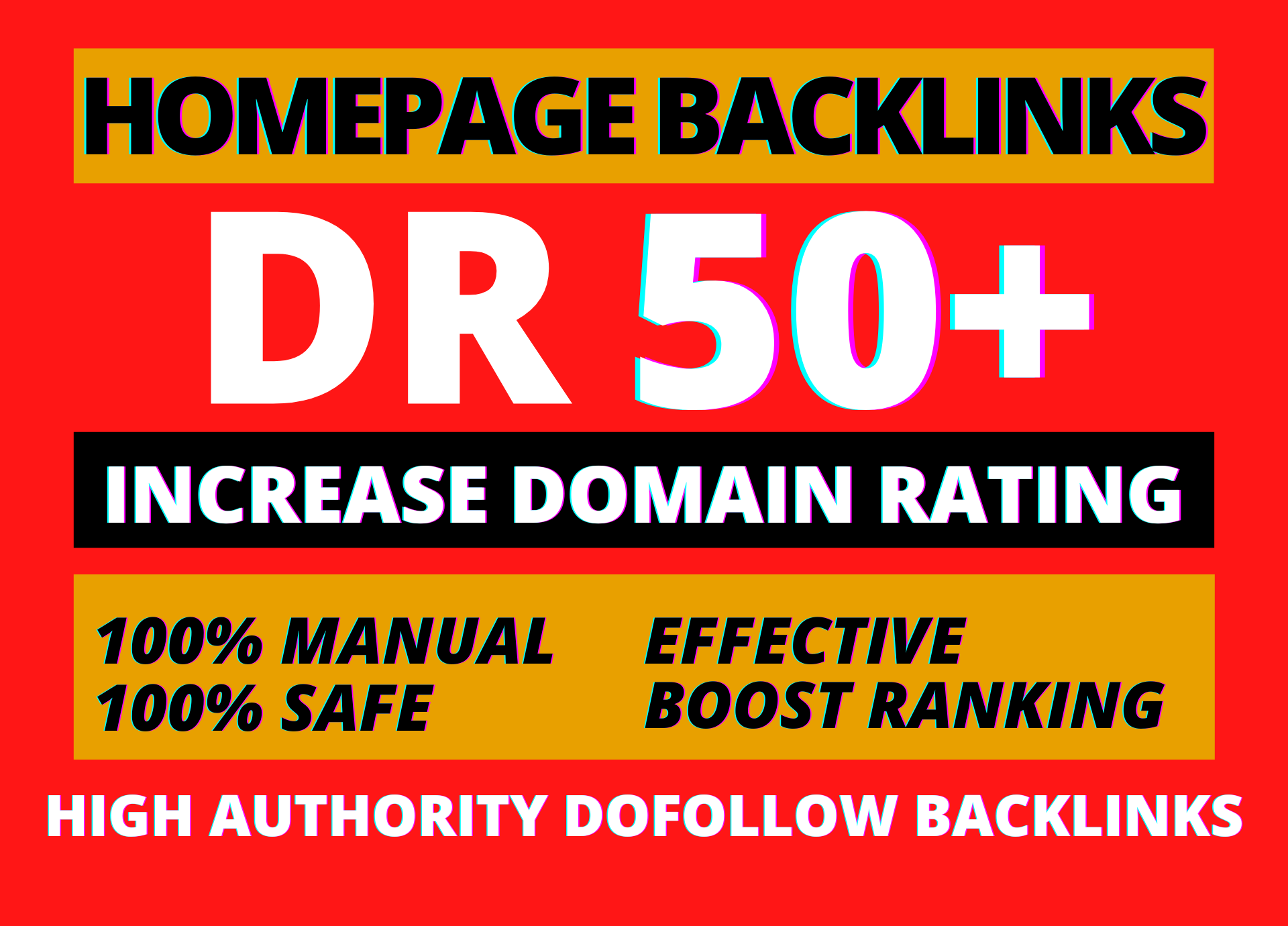 I will increase ahrefs domain rating DR by SEO high authority backlinks