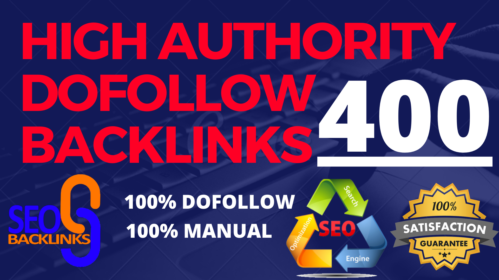 i will provide 400 high authority dofollow blog comment backlinks