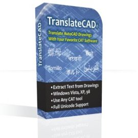 TranslateCAD saves translators hours of hard work by allowing you to extract the translatable text.