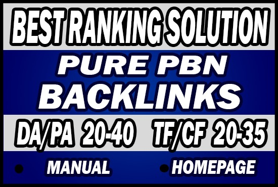 Do 70 Permanent Pure PBN Backlinks