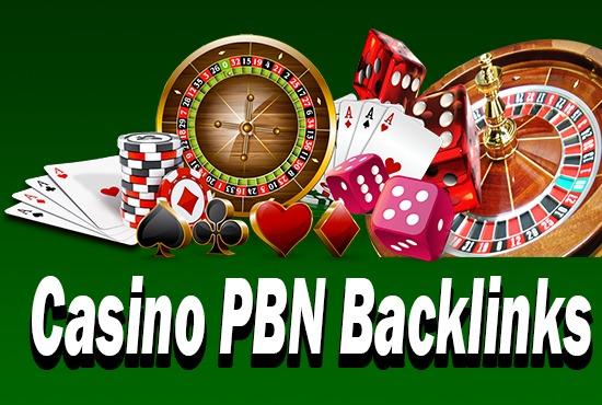 Provide 50 Casino PBN Backlinks High DA TF