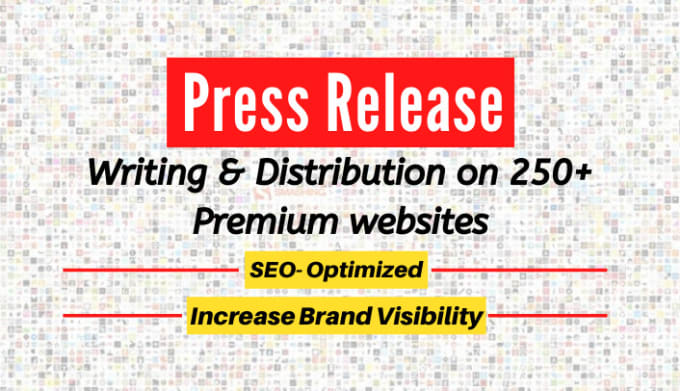 Write and submit your Press Release to 250 News Sites Google News.