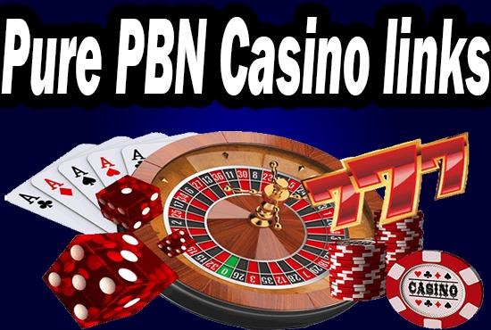 Provide 10 High Quality Casino & Gambling PBN Backlinks