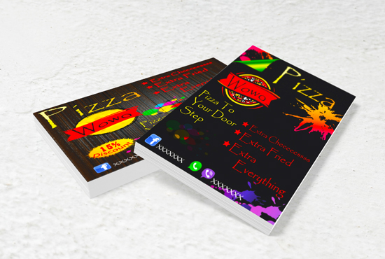 I will design amzing Flex,  banner,  Fb post in 24 hour