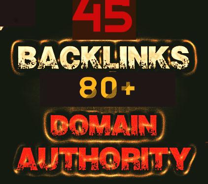 45 Pr9 High SEO Authority Backlinks - Fire Your Google Ranking