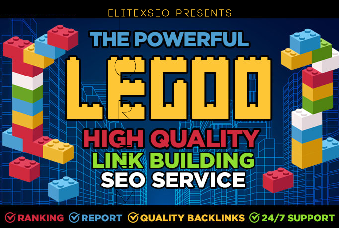 do powerful the legoo link building SEO service for google top ranking