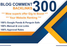 I will Do 300 Dofollow Blog Comment With High DA PA And LOW OBL Links