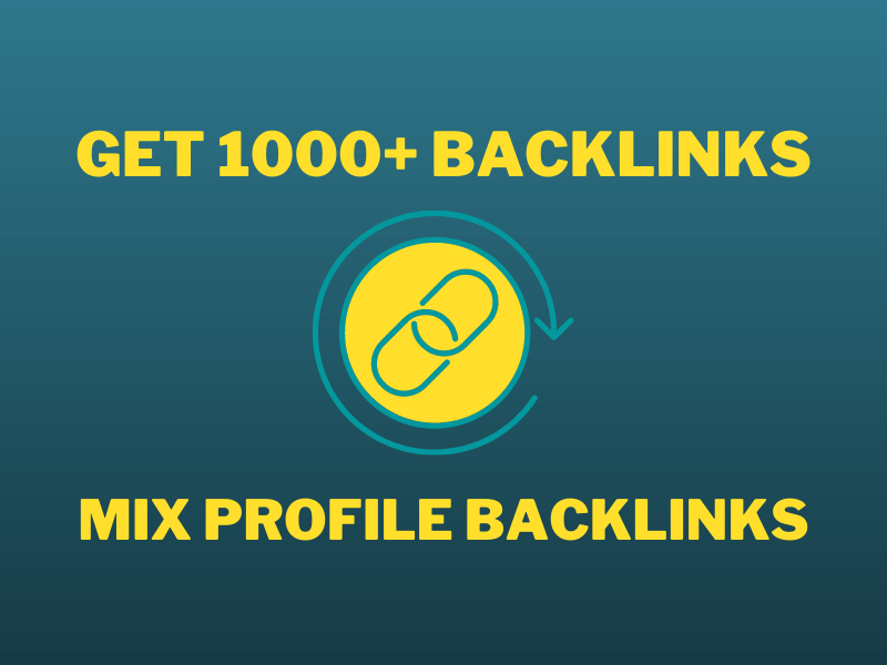 1000+ Mix Platform Seo Backlinks Which Social Networks and Forum Profile Backlinks from High DA Site