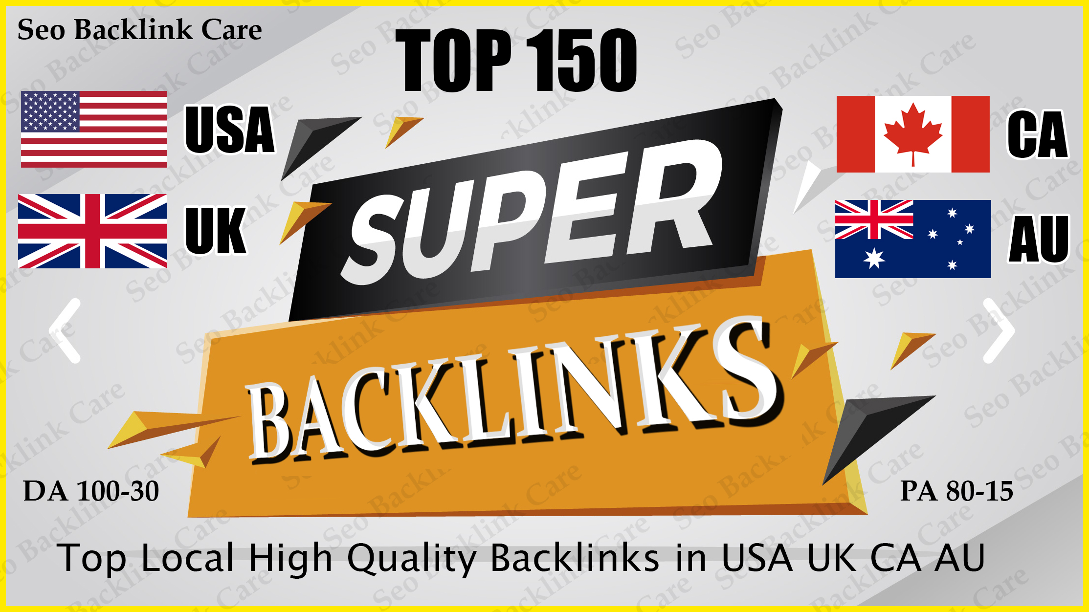 I do Top 20-150 USA UK CA AU Local Backlink SEO HQ Link Building Services for Google Ranking