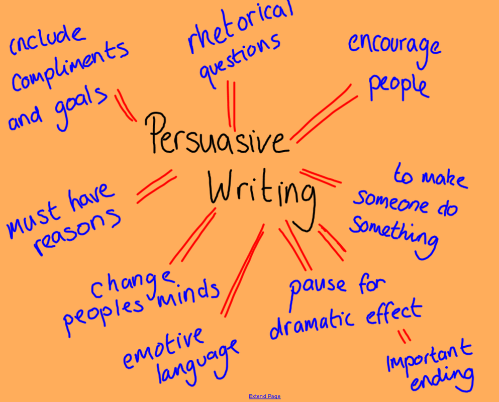 A Persuasive and a professional speech