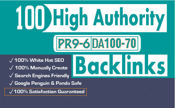 I will create 100 profile or account backlinks for you