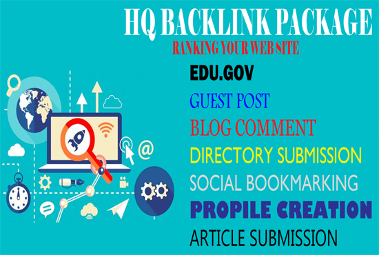 Low price HQ Package Backlink 2020 Rank your web site
