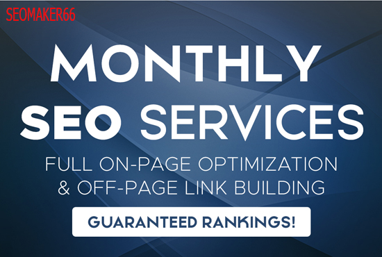 Monthly SEO Service For Rank Your Website on Top of Google 2020