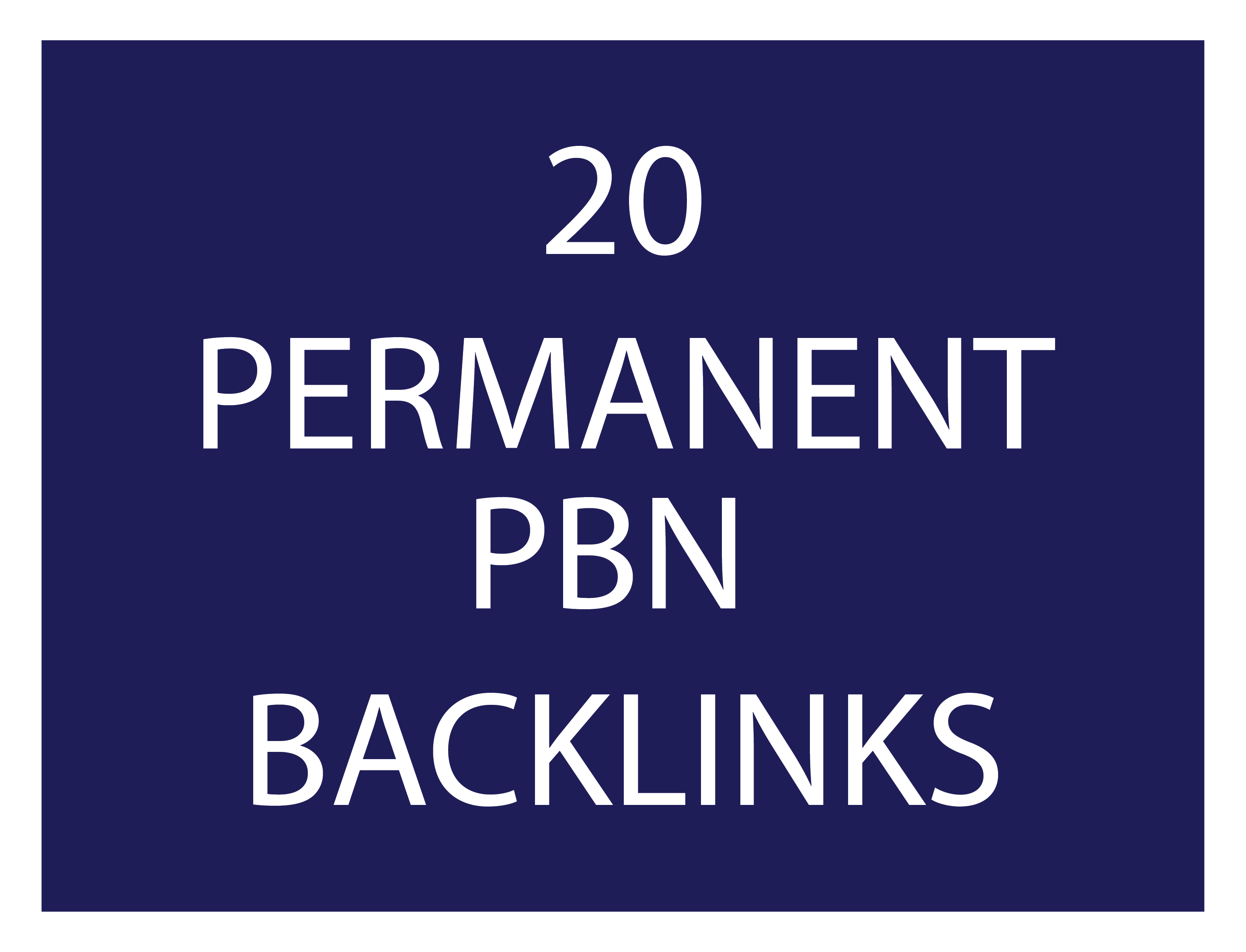 20 high trust flow permanent pbn backlinks high tf cf