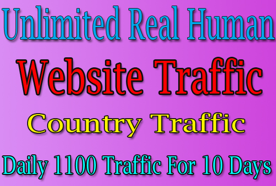 11000 Real Human Trafffic For 10 Days