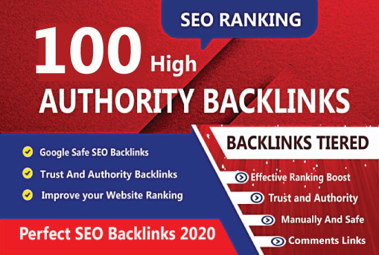 I will create manually 100 unique domain dofollow backlinks