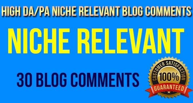 Do 30 High Quality Niche Relevant Blog comments