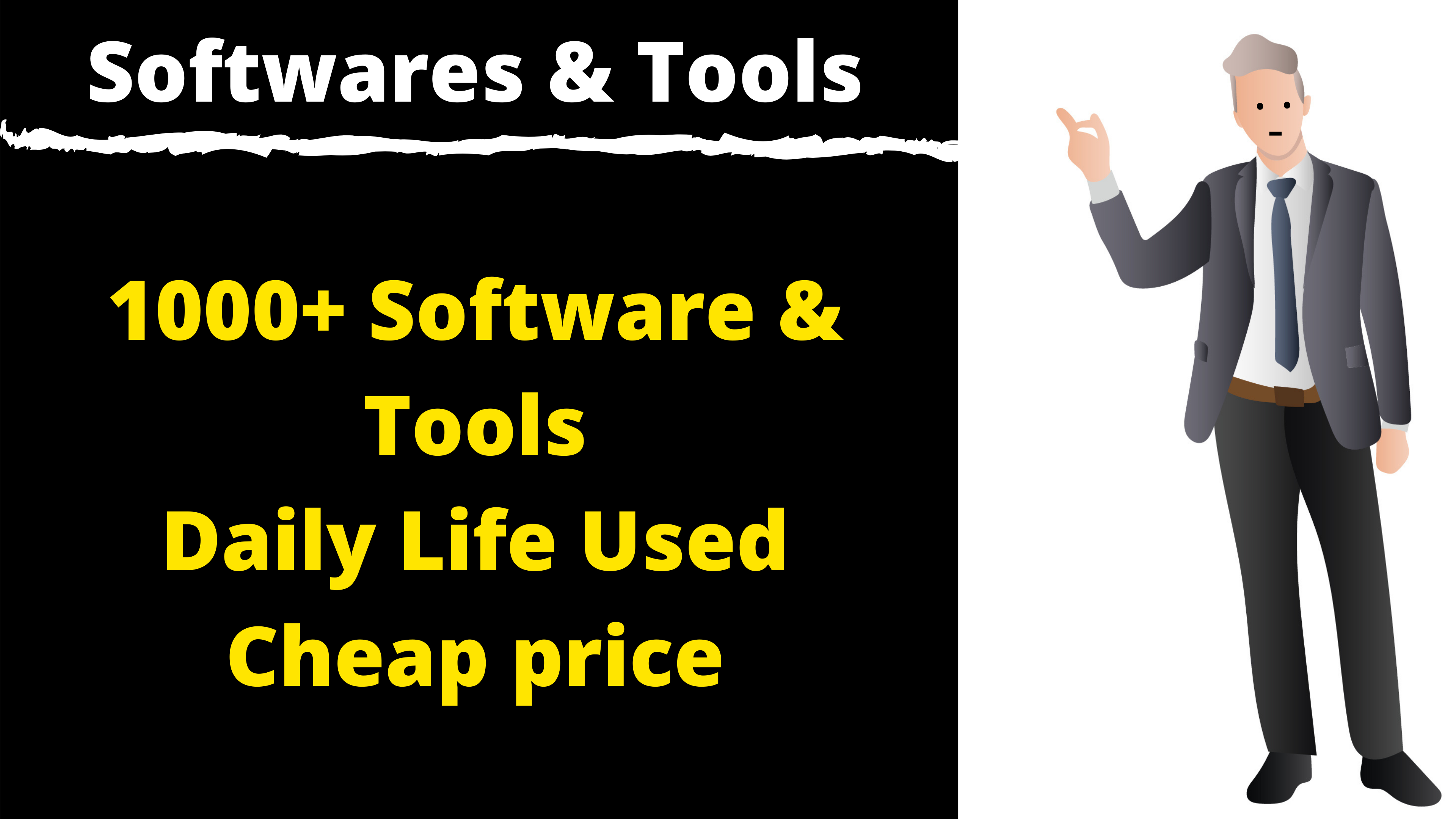 Ultimate Tools & Softwares Pack For You Best Package
