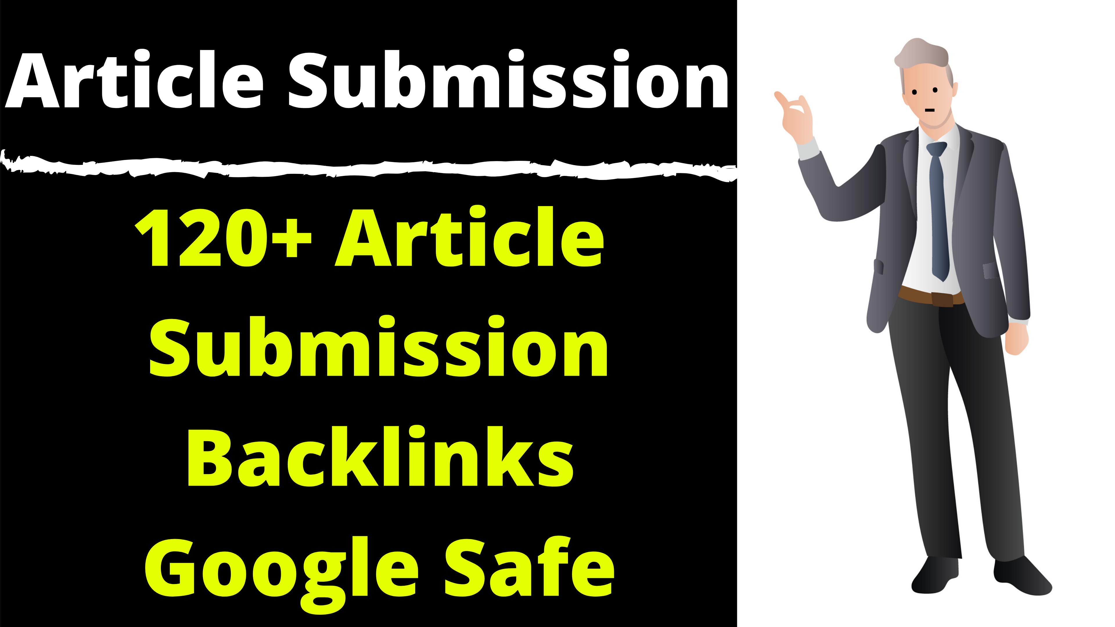 Article Submission To 120 Sites Easily Rank your Article In Google
