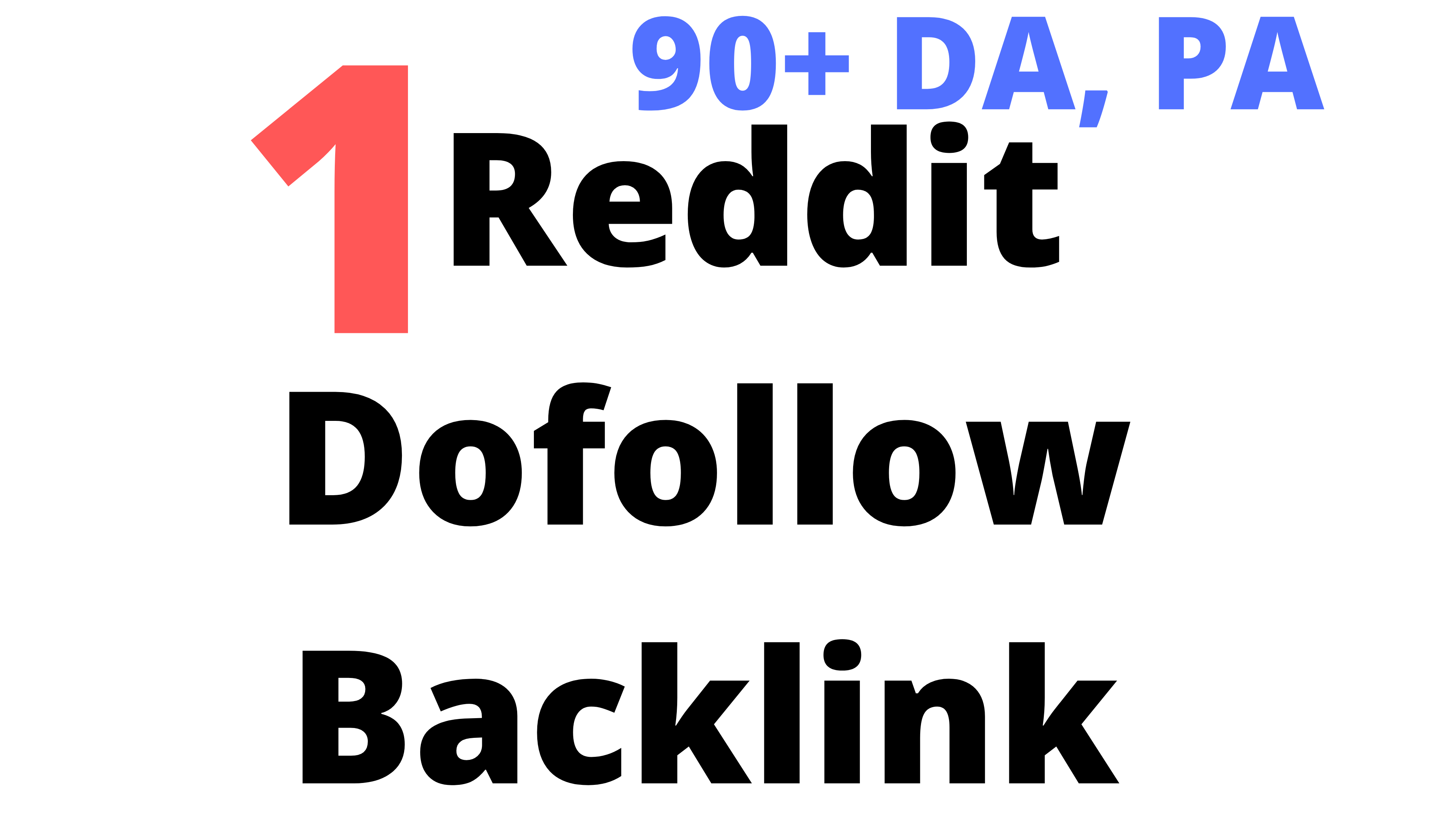Powerful Do-Follow Reddit 1 Backlink Limited Time Offer