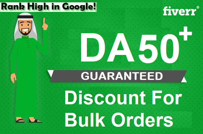 I will increase Moz DA 50+ by authority backlinks