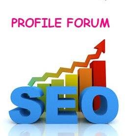 I do 35 profile forum for your website