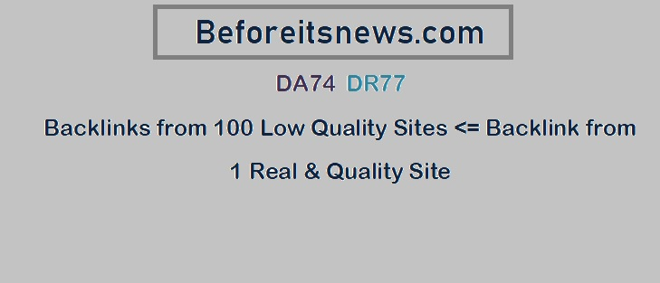 Guest Post on Beforeitsnews. com - DA74 DR77