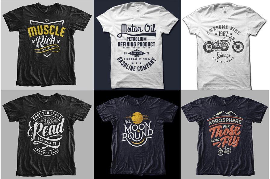 Create unique custom t shirt design