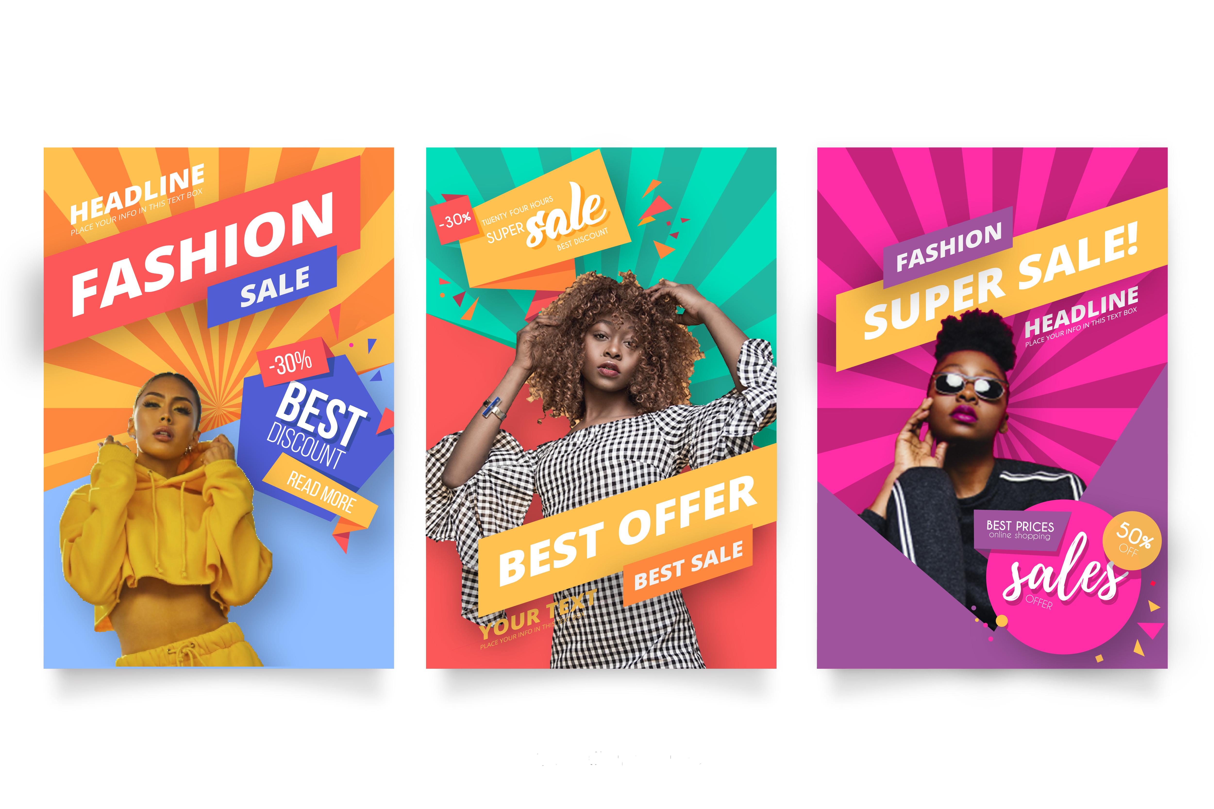 Design professional,  unique banner ads