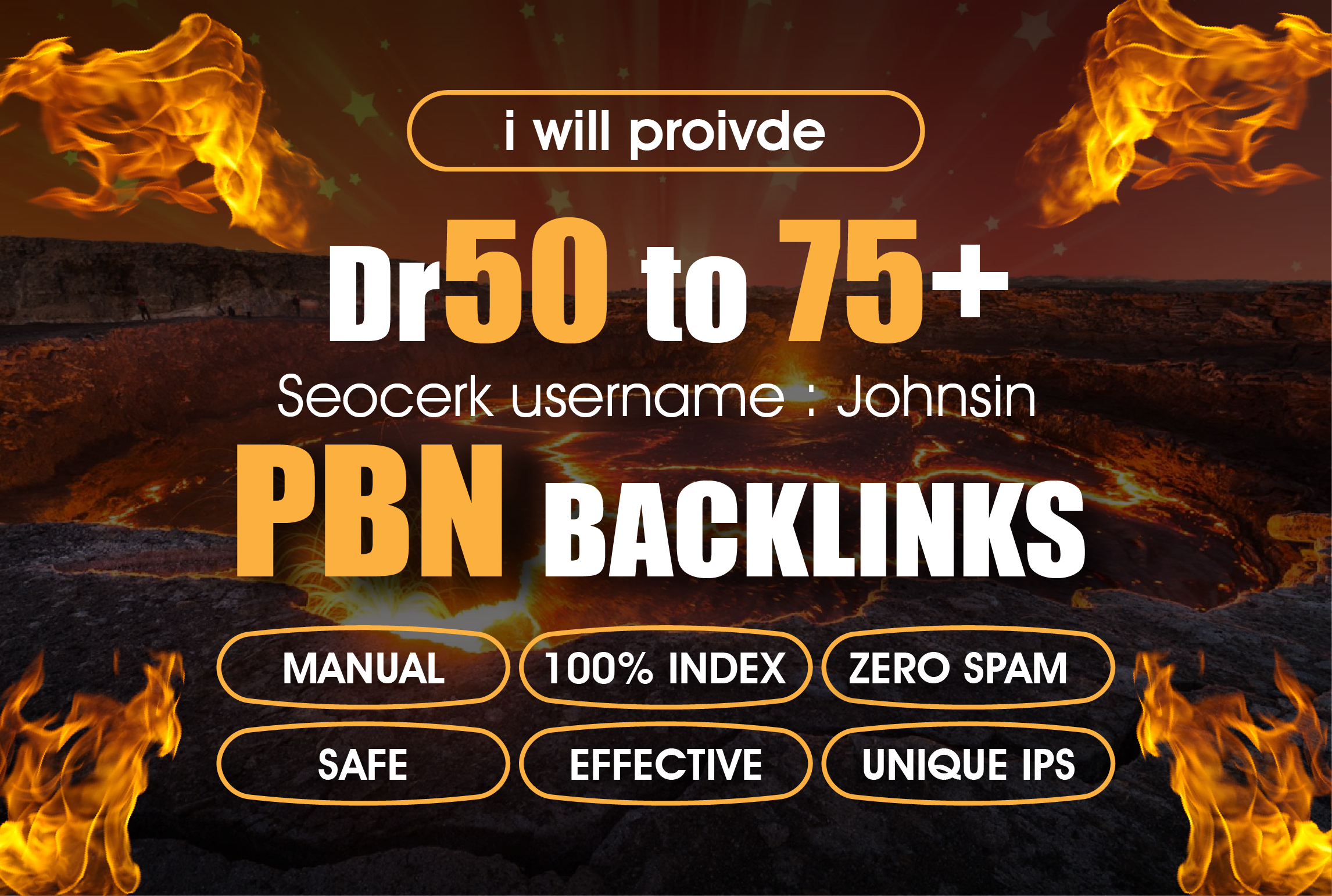 I will Proivde 10 Manual High Dr 50To75 Homepage PBN Dofollow Backlinks