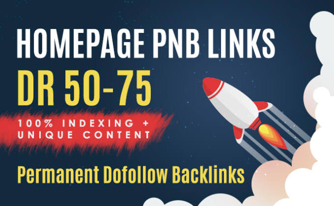 Build 16 Permanent DR 50-75 Homepage PBN Dofollow Backlink