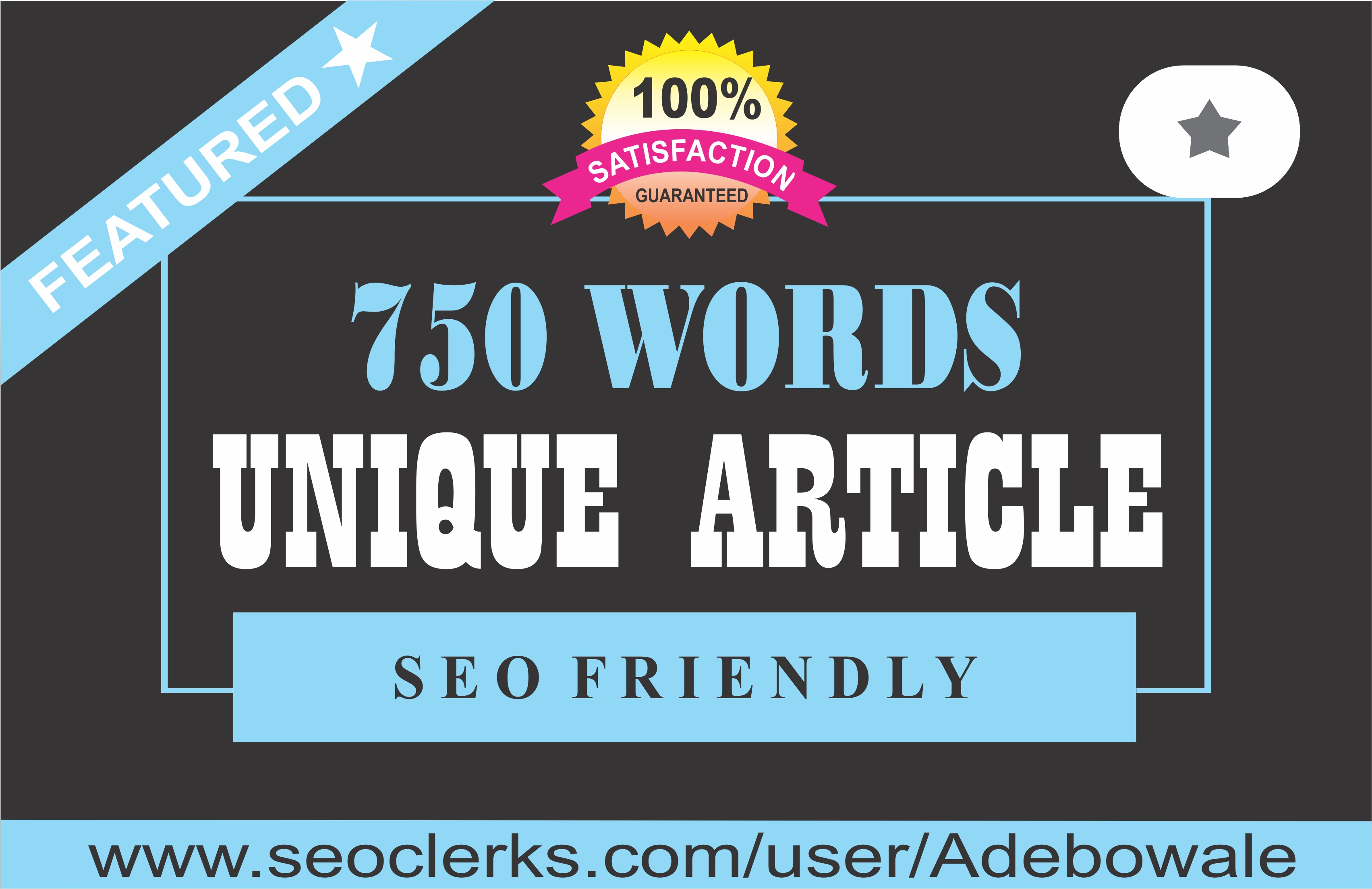 750 words SEO Optimized Article Writing / Content Writing