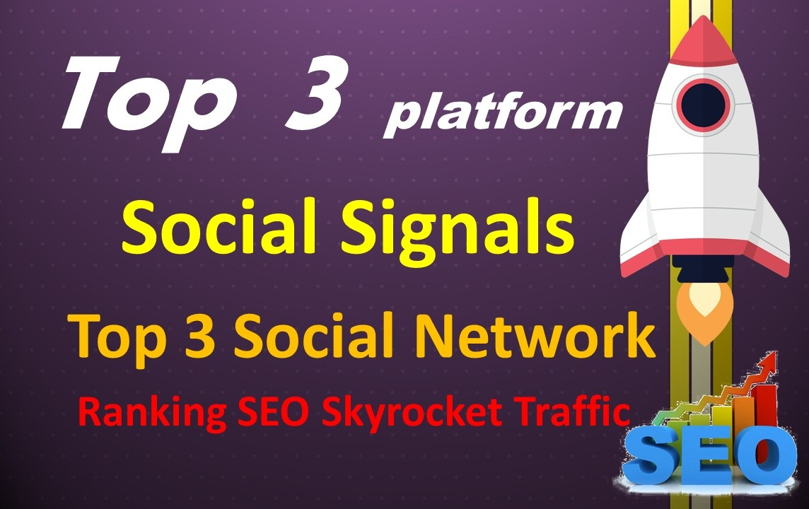 Top 3 Network 5000 Social Signals To Your Website