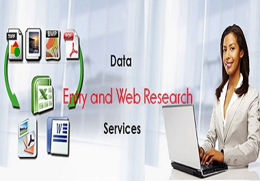 Data Entry And Web Research Specialist
