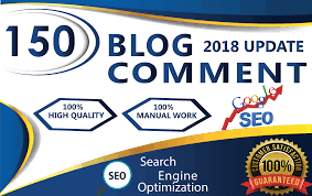 I will do 150 Unique Domain high DA 70 quality dofollow blog comments backlinks