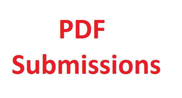 I will do PDF submission to 20 document sharing sites