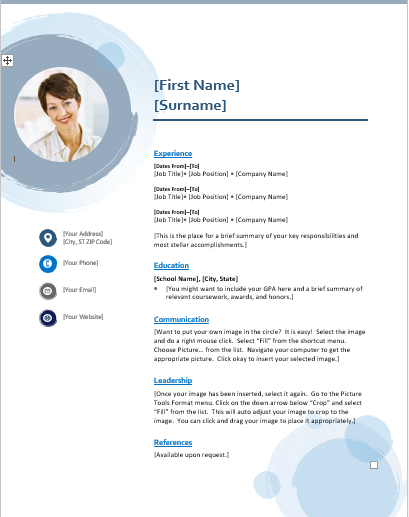 Make your curriculum vitae and resumes strong