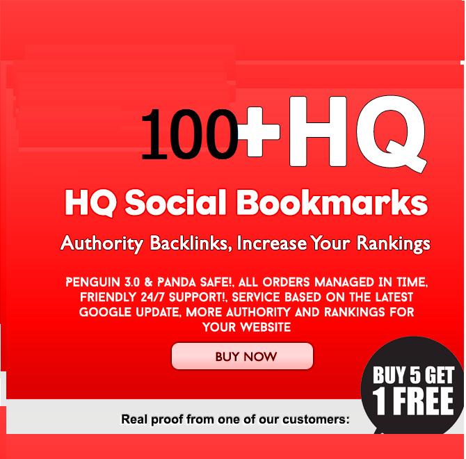 do 100 bookmarking guaranteed dofollow backlinks