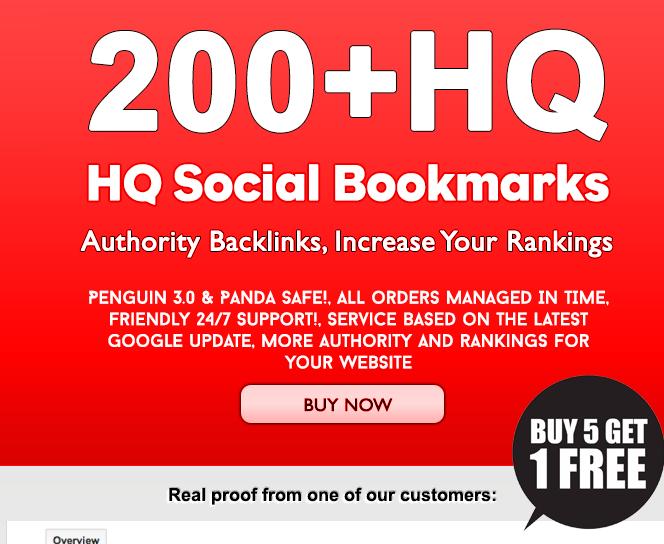 do 200 bookmarking guaranteed dofollow backlinks