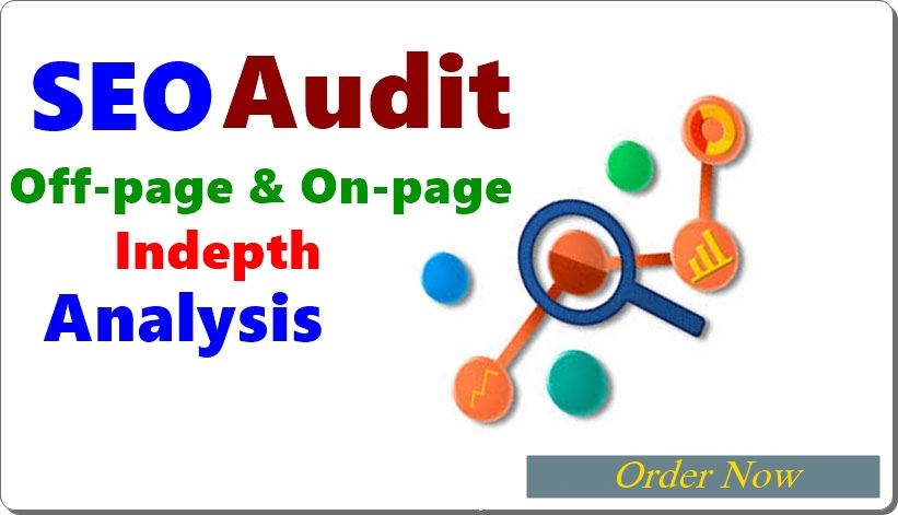 I will make a SEO audit report