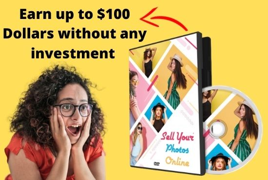 I will provide a course on how to sell photos online and make money