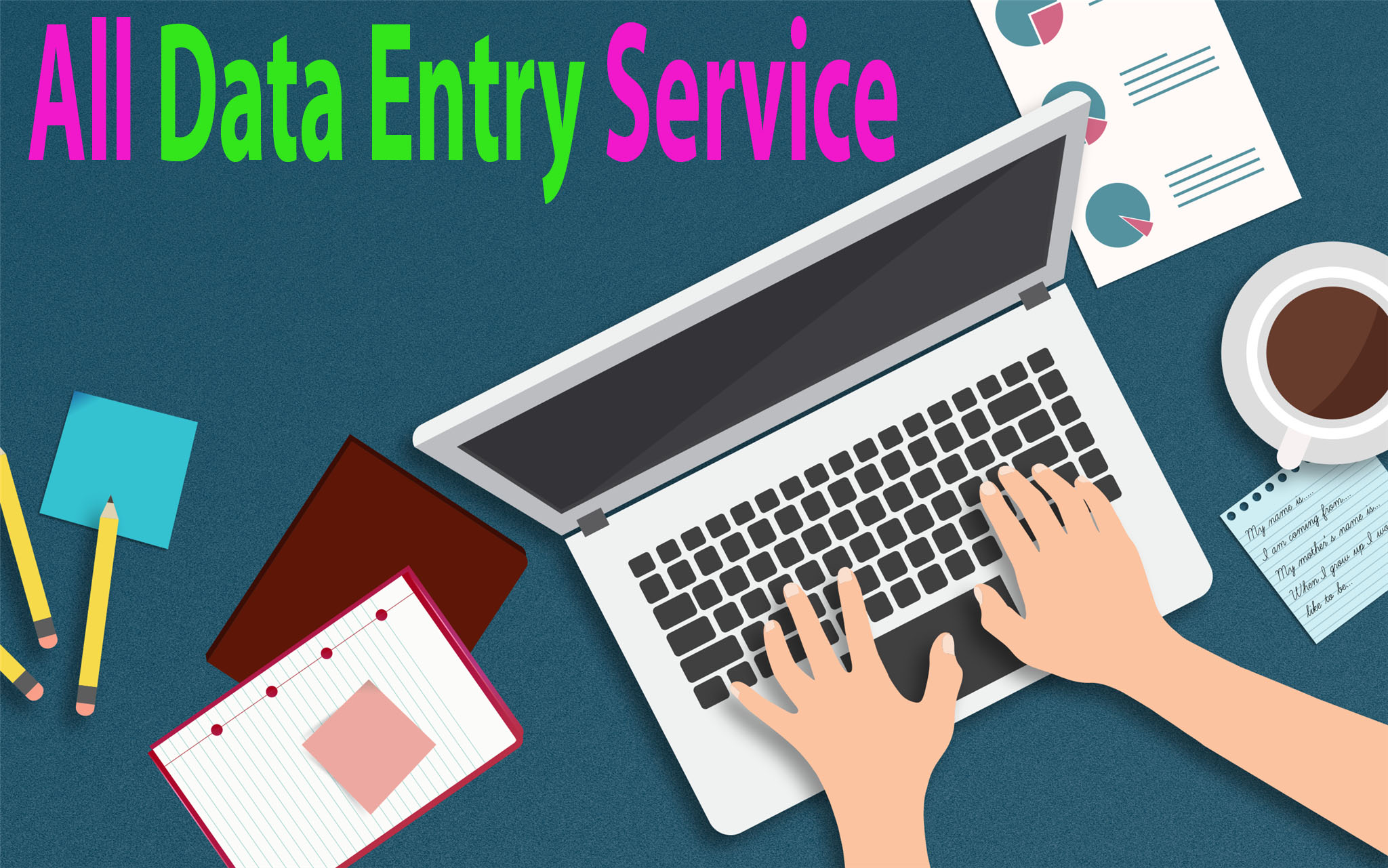 I can do any kind of Data entry work & PDF,  JPG to word convertion.